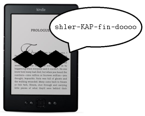 Kindles can talk