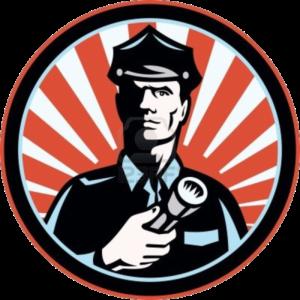 A police cop