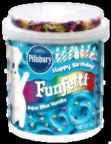 Blue Funfetti Frosting