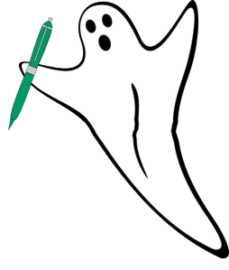 Writing ghost