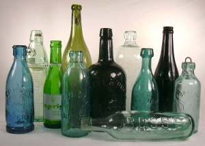 Bunch of bottles