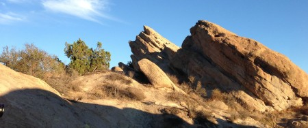 Vasquez Rocks in Santa Clarita
