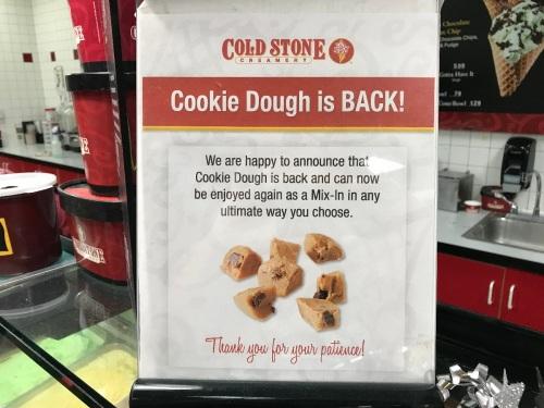 CookieDoughColdstone